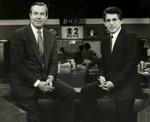 Bill Kurtis and Walter Jacobson WBBM (1973, 1985, 2010)