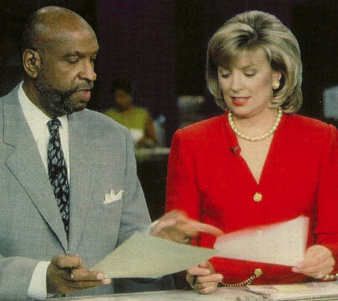 Warner Saunders and Allison Rosati WMAQ (1997)