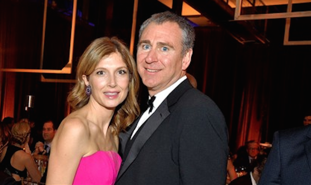 Anne Dias Griffin and Ken Griffin