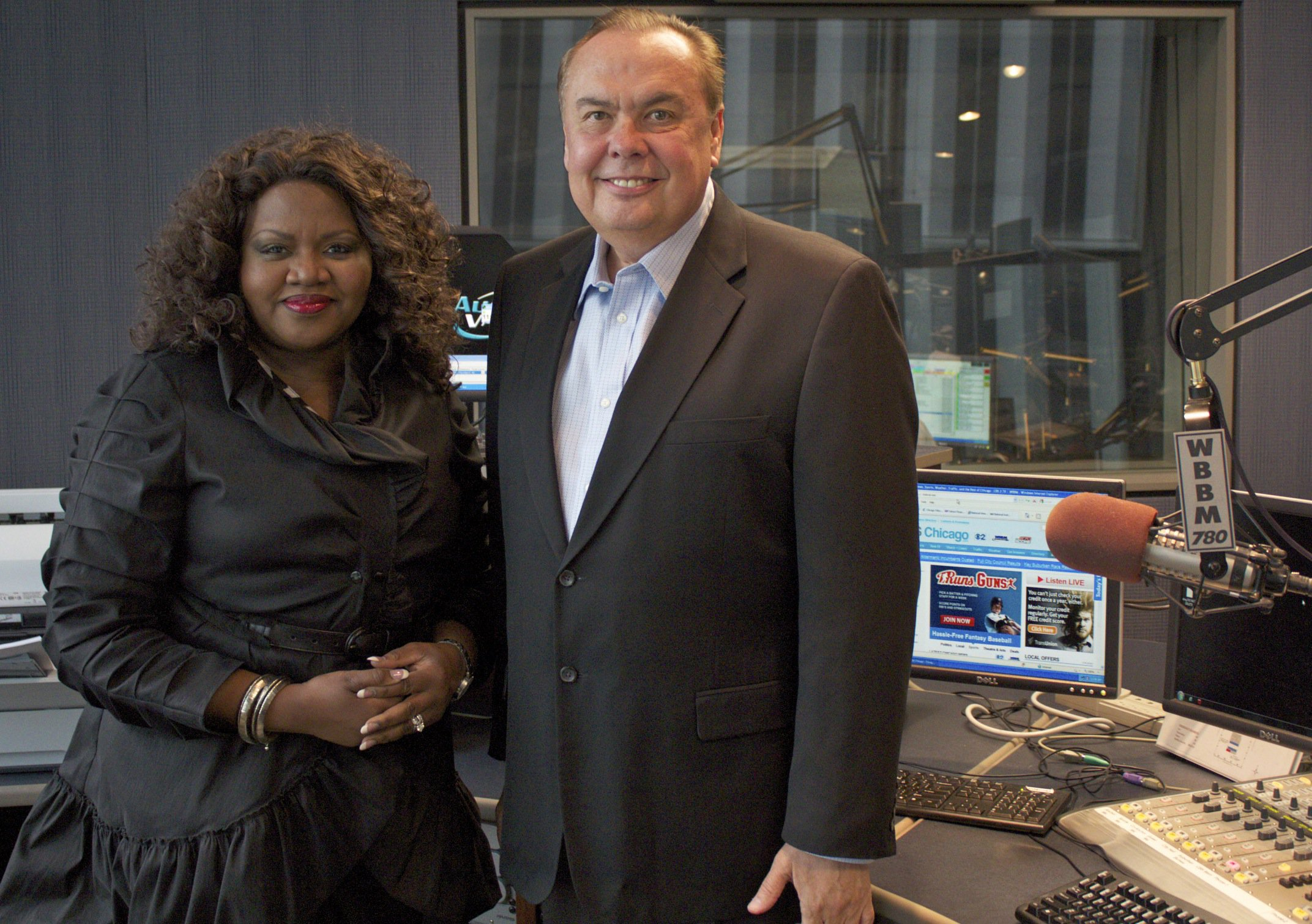 1. Felicia Middlebrooks and Pat Cassidy WBBM AM 780/WCFS FM 105.9 (8.8 share)