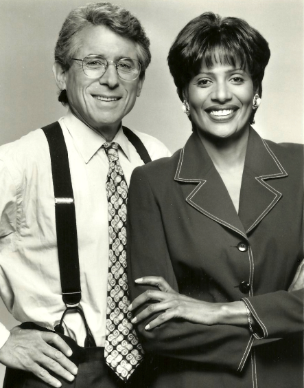 Walter Jacobson and Robin Robinson WFLD (1993)