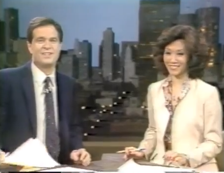 Ron Magers and Linda Yu WMAQ (1982)