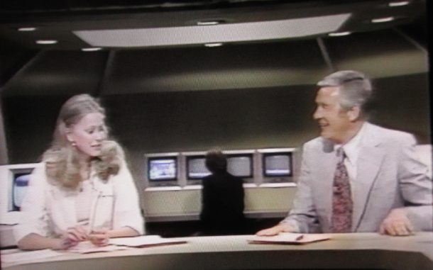 Jane Pauley and Floyd Kalber WMAQ (1975)