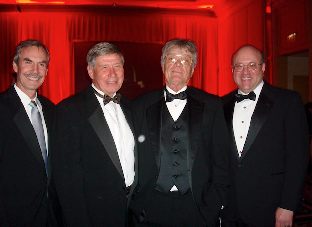 With John Gehron, Lyle Dean and Robert Feder at Radio Hall of Fame (2008)