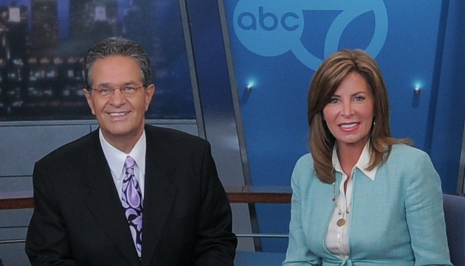 1. ABC 7 Ron Magers and Kathy Brock 8.9/17