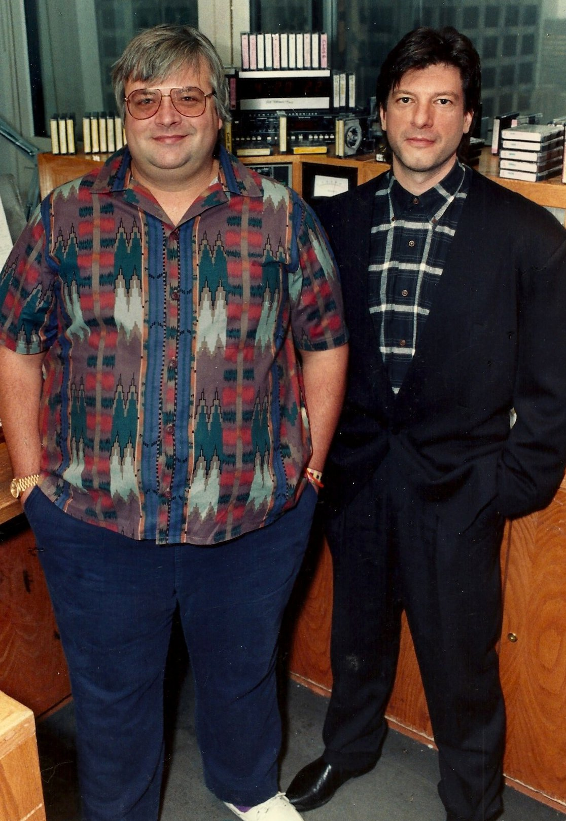 Steve Dahl and Garry Meier