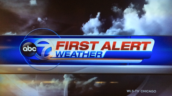 Abc 7 adds first alert to weather front robert feder at wls channel 7 theyre not just giving you the weather anymore now theyre giving you abc 7 first alert weather sciox Image collections
