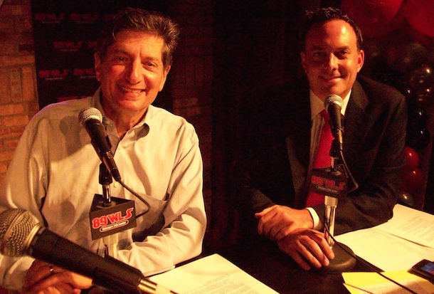 9. (tie) Bruce Wolf and Dan Proft WLS AM 890 (3.1 share)