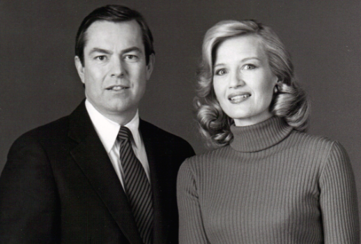 Bill Kurtis and Diane Sawyer (1982)