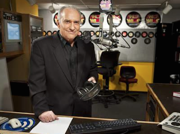 8. John Records Landecker (above); Dick Biondi WLS FM 94.7 (4.3 share)