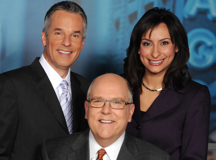 Mark Suppelsa, Tom Skilling and Lourdes Duarte