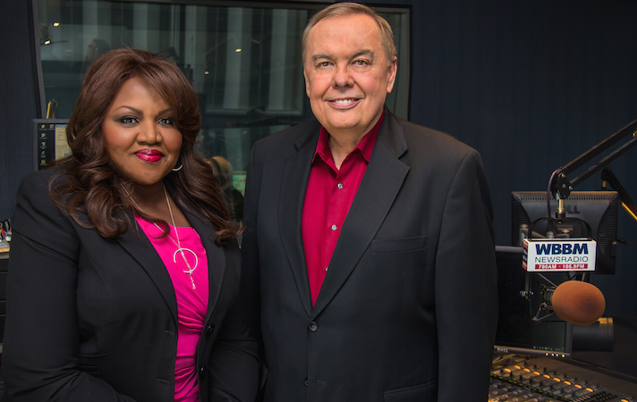 1. Felicia Middlebrooks and Pat Cassidy WBBM AM 780/WCFS FM 105.9 (8.5 share)