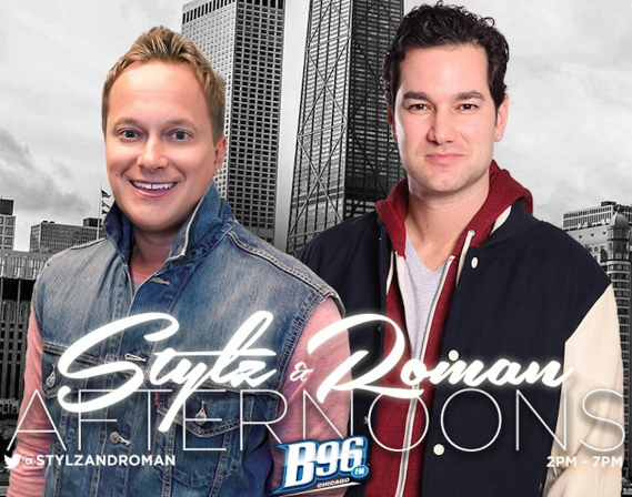 5. Dougie Stylz and Justin Roman WBBM FM 96.3 (4.8 share)