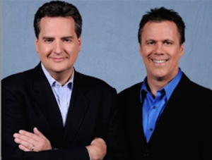 Roe Conn and Richard Roeper