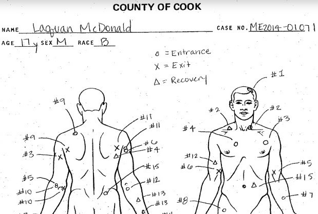 Laquan McDonald medical examiner's report