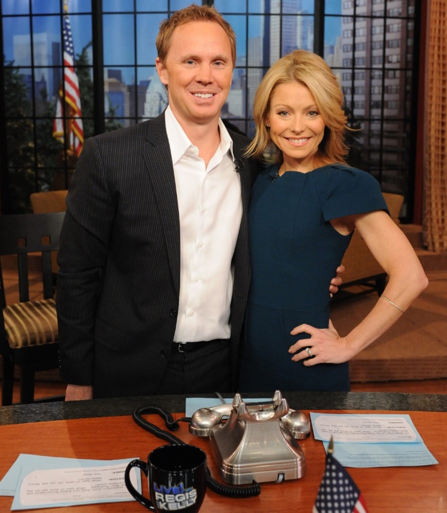 Eric Ferguson and Kelly Ripa (2011)