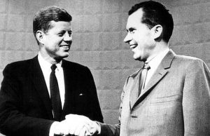 John F. Kennedy and Richard M. Nixon